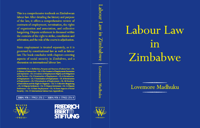 Book cover for Labour Law in Zimbabwe