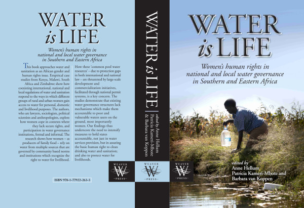 Book cover for Water is Life