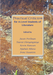 Practical Criticism for A-level Students of Literature - Edited and compiled by Jason Perlman, Taurai Chinyanganya, Kevin Hanssen, Njabulo Mbono and Irene Staunton